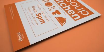 'One Third' Soup Kitchen Flyer