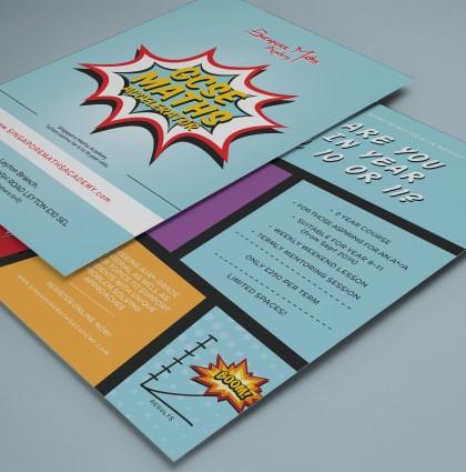 'GCSE Maths Accelerator' Flyer
